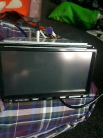 Car stereo double din kw-avx810