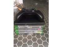 Xbox one bundle games and controller with battery back