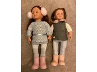 Our Generation Dolls and Clothes Bundle