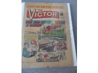 The Victor No. 98 Jan 5th 1963 Very Good condition and in clip-on glass frame
