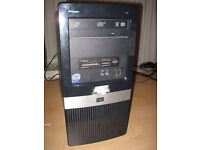 FAST PC Tower Core2 Duo 2.53Ghz x 2, windows 7 ultimate. @@ BARGAIN @@ £50