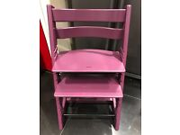 Stokke Tripp trapp high chair purple