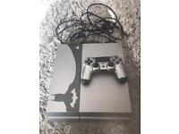 PlayStation 4 Batman edition console