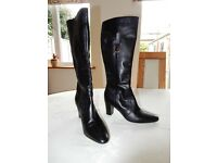 Clarkes Ladies Leather Boots