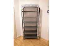 Extra Large XL Shoe Rack Shoerack 7 Tiers 160cm x 60cm