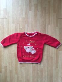 Baby Christmas jumper