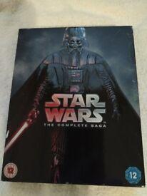 Star Wars The Complete Saga 1-6 [Blu Ray] - £26