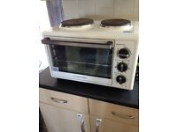 Mini oven/grill/2 hobs