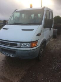 02 iveco pickup hook loader