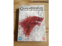 Game Of Thrones First and Second Seasons DVD