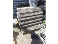 x8 Concrete kerbs heavy duty HB for sale
