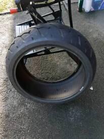 Suzuki Vzr 1800 rear tyre