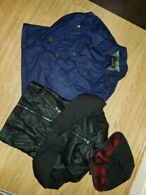 River island boys jackets size 7