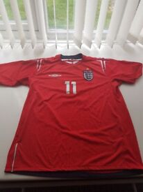 England 2004 Away Shirt 11 Lampard 42-44 inches
