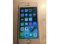 silver and white iphone 5s 16gb on ee network