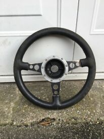 MG Midget Mota Lita Steering Wheel