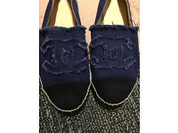 CHANEL espadrilles shoes size uk 5