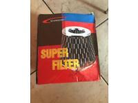 Super filter and air intake pipe