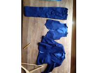 Boys blue suit size 8
