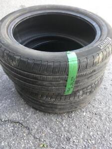 2 Pneus Été Pirelli 245/45R18