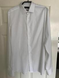 Men's White Shirts - Set 4 -Worn once