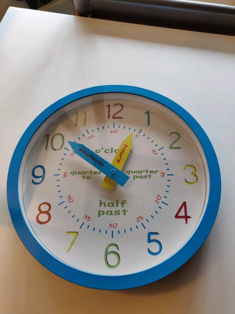 Childrens Wall Clock In Crook County Durham Gumtree