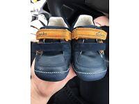 Boys Clarks Shoes 4 1/2 G