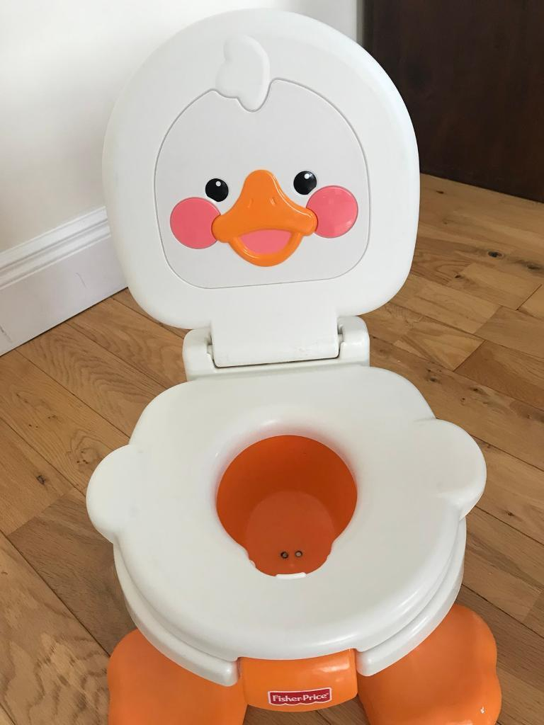 Fisher price duck potty & step stool - toddler training