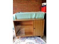 Retro Bookcase - Cabinet