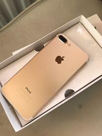 iPhone 7 plus 32 GB in gold