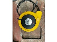 Zeca wall mounted cable reel