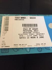 4day Isle of Wight ticketx2
