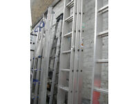 Ladders and step ladders joblot