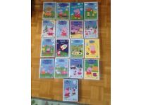 Peppa Pig DVD collection bundle
