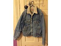 Levi's Jean jacket - sherpa trucker jacket