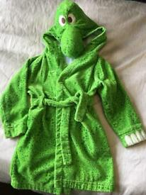 Dinosaur dressing gown 5-6 years