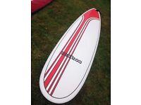 "Cortez minimal surfboard 7'6"""