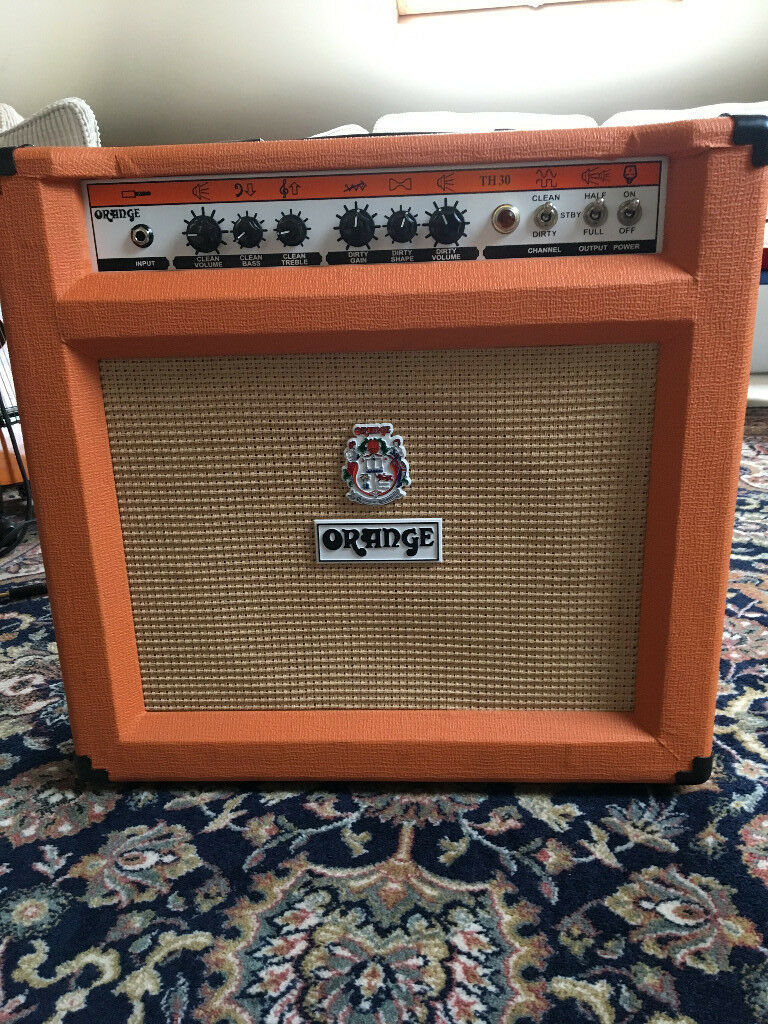 Orange TH30 Combo Amp in Mint Condition
