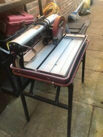 Tile cutter wet saw