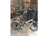 Nice condition Aluminium Apollo Transition folding bike 🚲