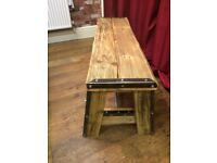 Handmade Bespoke A Frame Style Bench - Good Quality and Sturdy