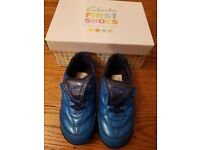 Clarks. Size 7G Boys Blue Trainers