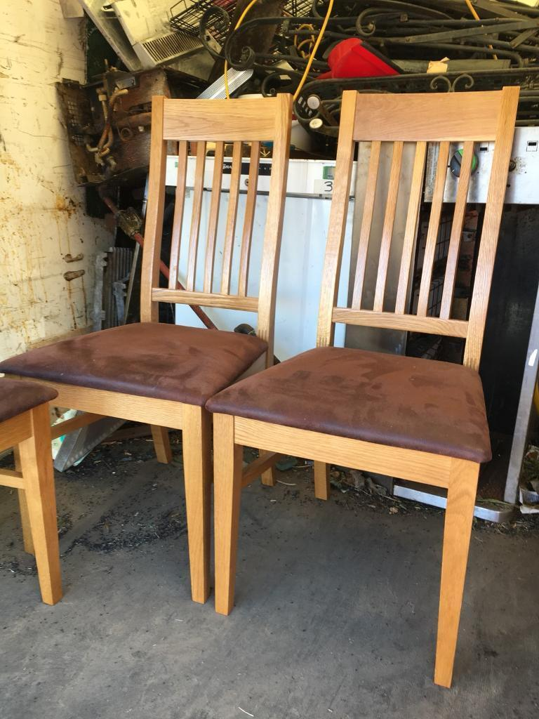 John Lewis Oak Table And 6 Chairs