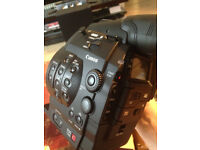 Canon EOS C300 (EF Mount) and Canon CN-E50MM Cinema Lens