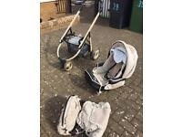 Bebe pram with accessories