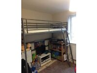 Ikea single bunk bed in excellent condition