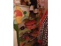 Kids hand crafted winnie the pooh bedroom set