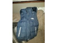 Bnwot North Face Gilet ladies size 10