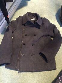 Boys coat 11-12 h&m excellent condition