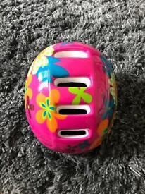 Girls first helmet